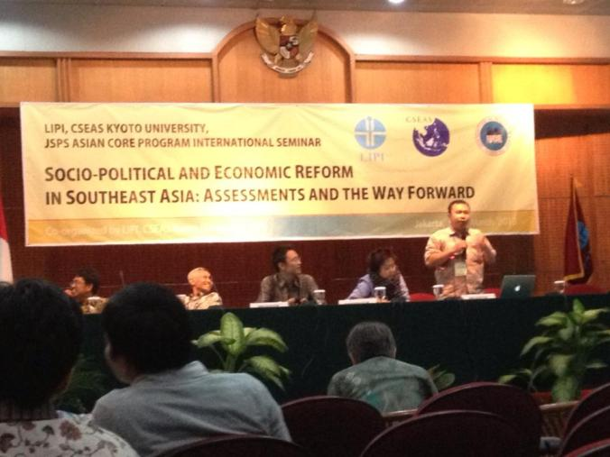 Abdul Hamid Dosen Fisip Untirta, Pembicara Internasional Conference, LIPI and CSEAS