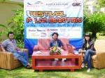 Abdul Hamid Untirta, dalam Talkshow Festival Film Banten