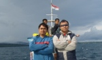 Abdul Hamid Untirta, Bersama Anis Fuad ke Pulau Peucang