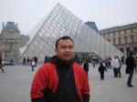 Abdul Hamid Untirta di Louvre