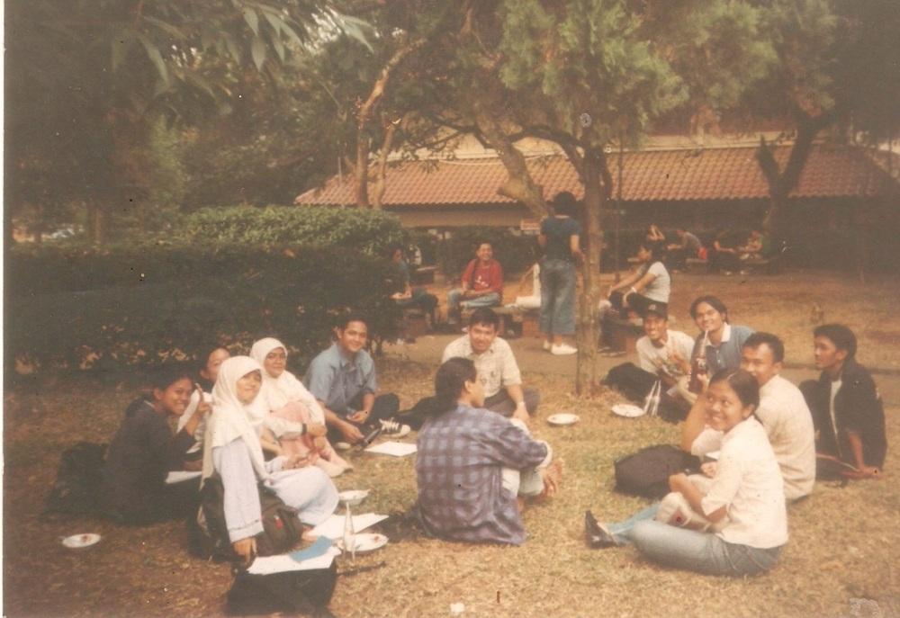 Abdul Hamid waktu jadi Ketua Senat Mahasiswa FISIP UI