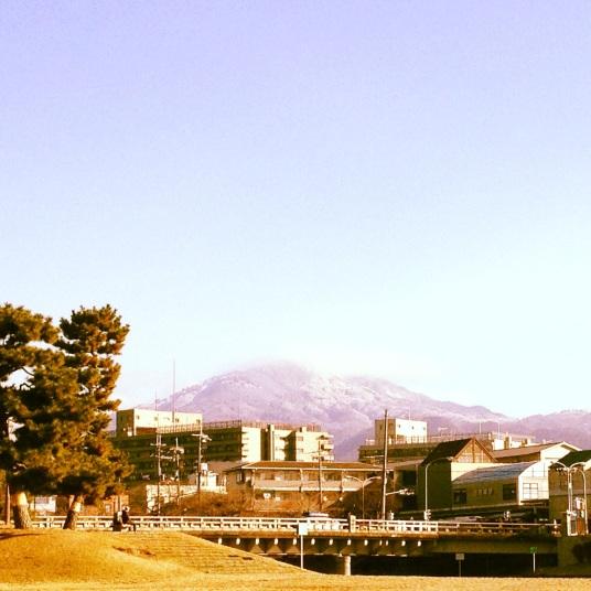 Snow in Daimonji