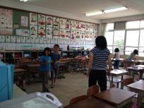 Ayu in Classroom