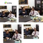 Abdul Hamid Untirta dalam sebuah diskusi dengan Prof. Mahfud MD