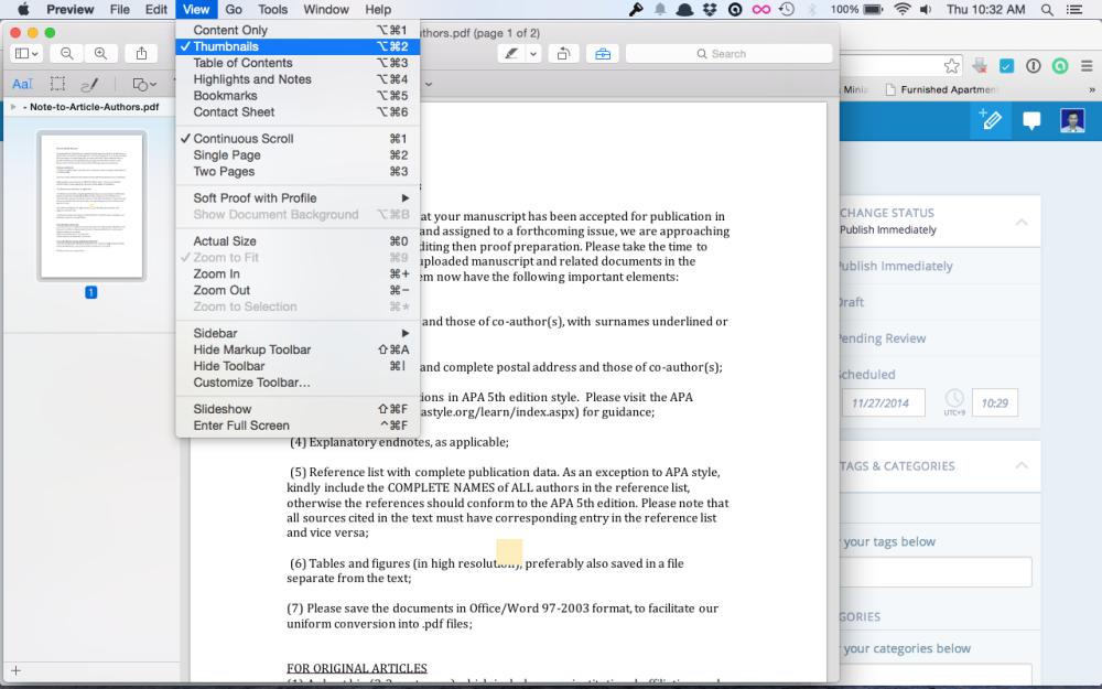 Menggabungkan File Pdf di Mac dengan Preview (1/4)