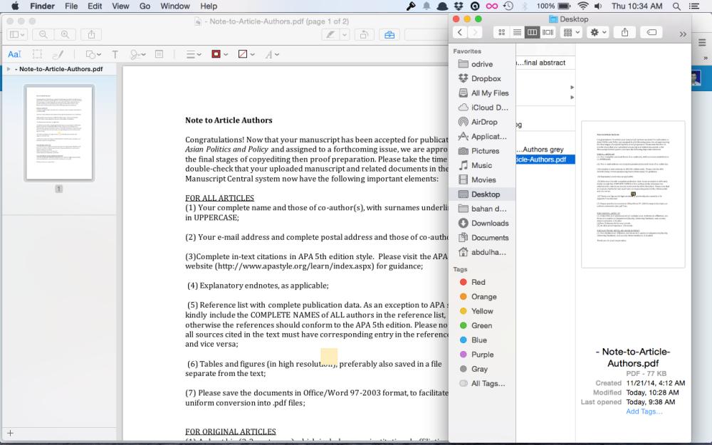 Menggabungkan File Pdf di Mac dengan Preview (2/4)