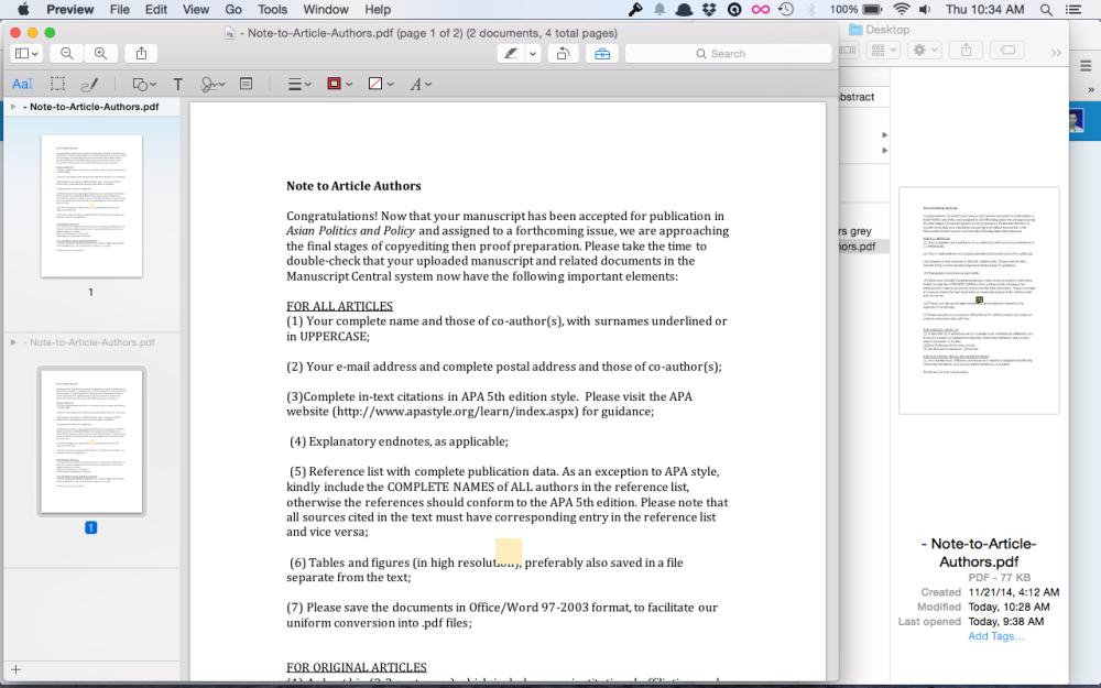 Menggabungkan File Pdf di Mac dengan Preview (3/4)