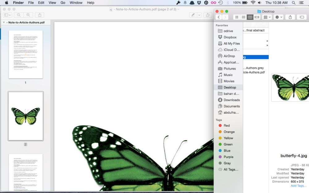 Menggabungkan File Pdf di Mac dengan Preview (4/4)
