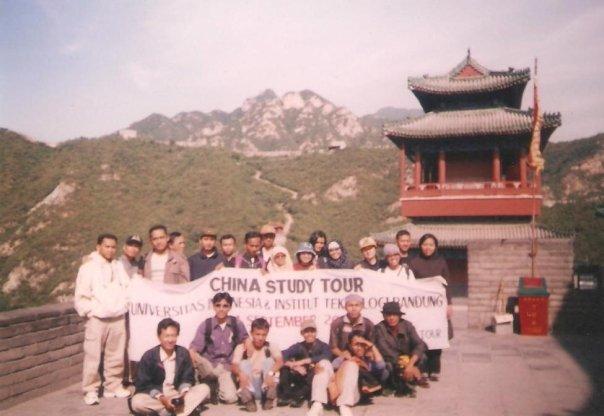 Kalau ini foto Study tour (beberapa) mahasiswa UI dan ITB ke beberapa kampus di China dan Hongkong.