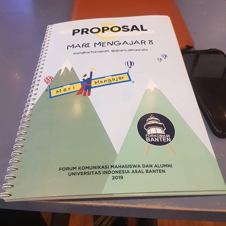 proposal mari mengajar