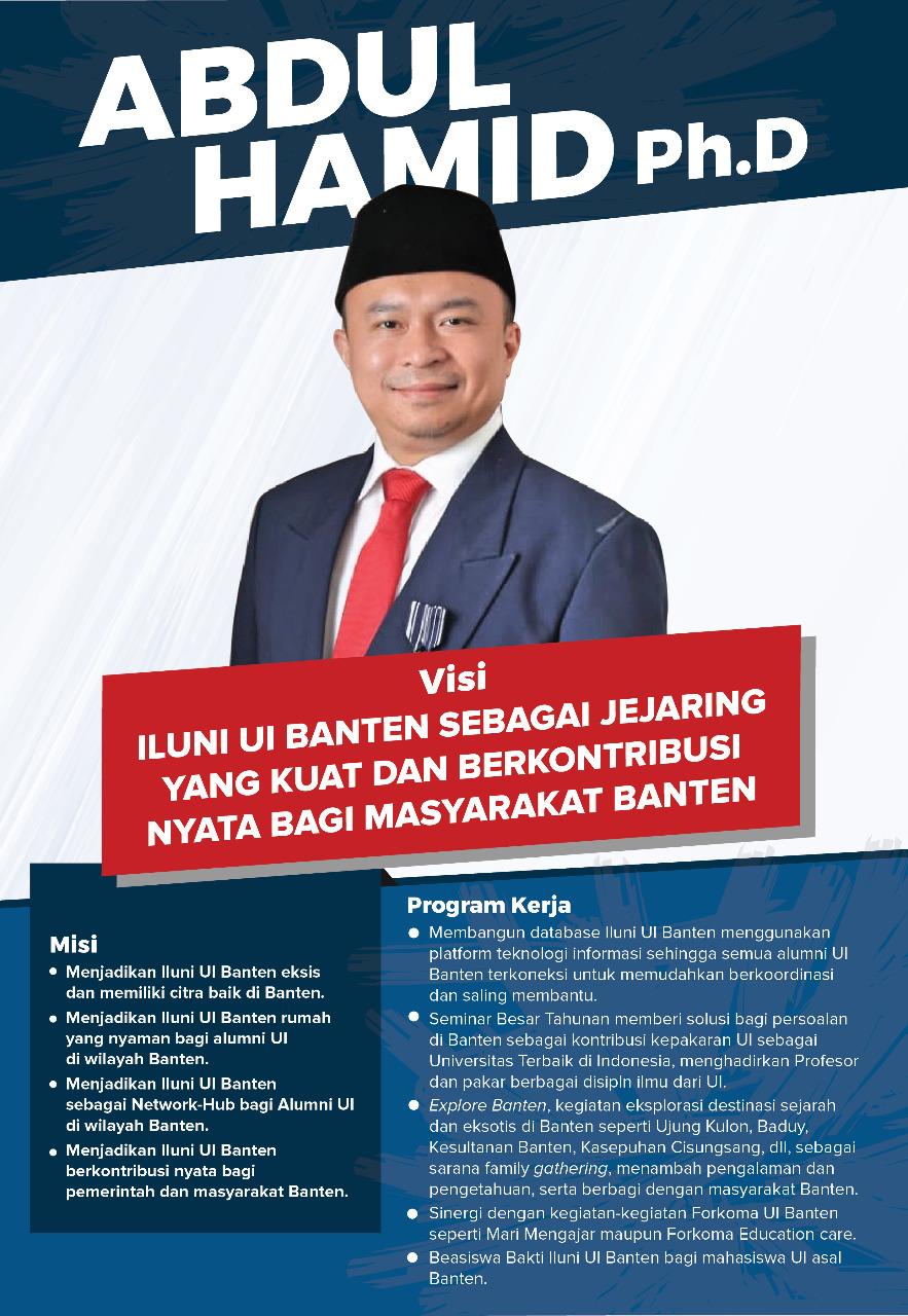 visi misi iluni UI Banten